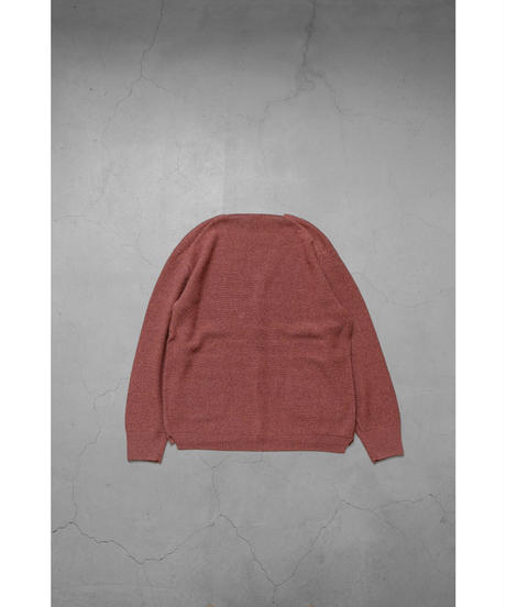comm.arch. / HAND FRAMED CO LINEN C/D / col.RED BEANS / Lady's