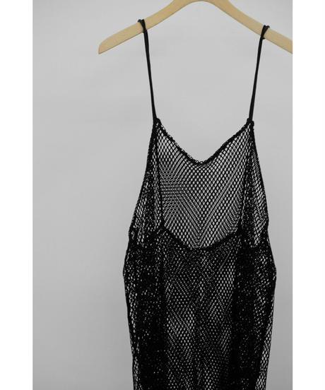 &her / Mesh Dress / col.BLACK
