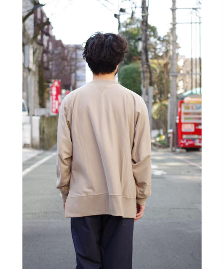 bunt / COMFY CREW NECK SWEAT / col.BEIGE