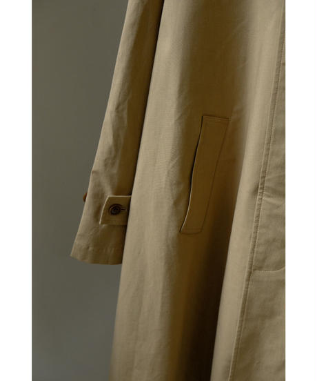 S.F.C Stripes For Creative / SFC SOUTIEN COLLAR COAT / col.BEIGE