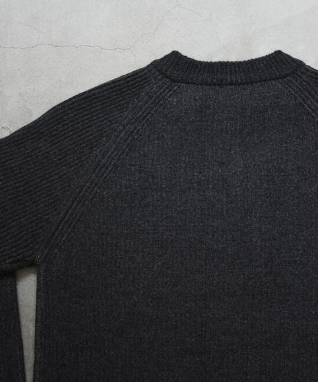 bunt / 5G GRANDFATHER SWEATER / col.チャコール