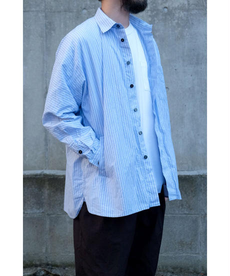 YOKO SAKAMOTO / WORK REGULAR SHIRT / col.STRIPE