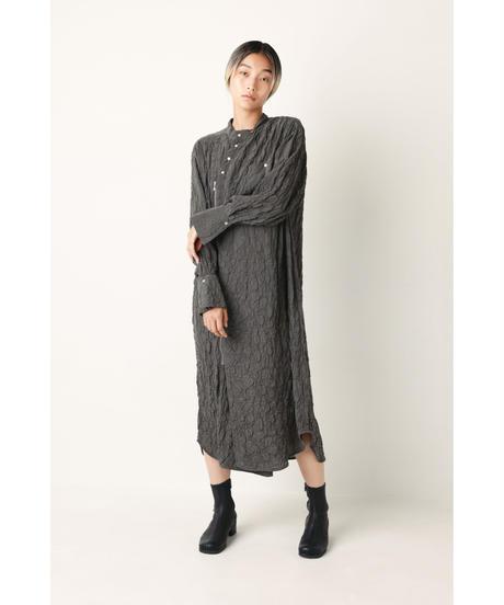 ASYMMETRY ZIP DRESS