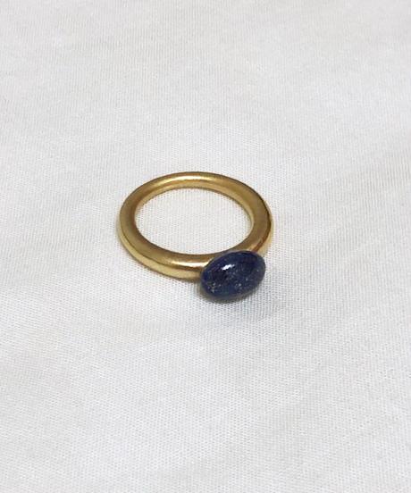 GRAIN LAPIS LAZULI RING(EA1212)