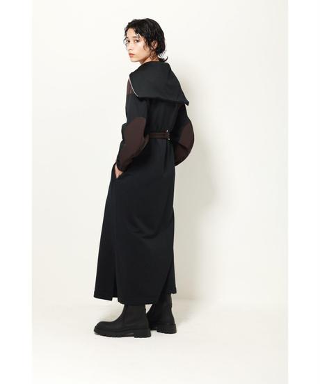 ZIP SAILOR COLLAR DRESS