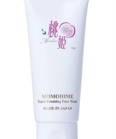 Momohime Peach Foaming Face Wash