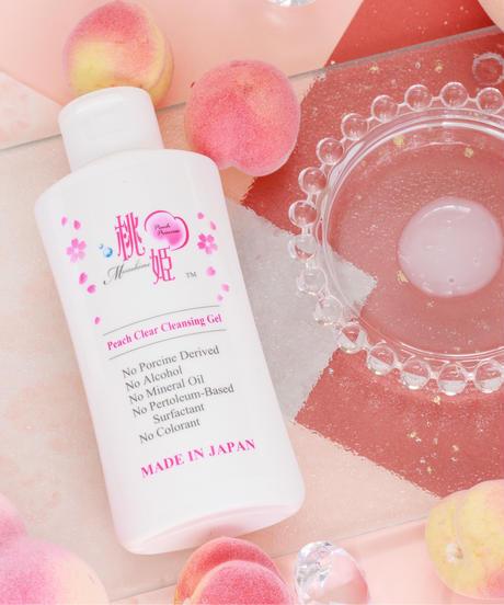 Momohime Peach Clear Cleansing Gel
