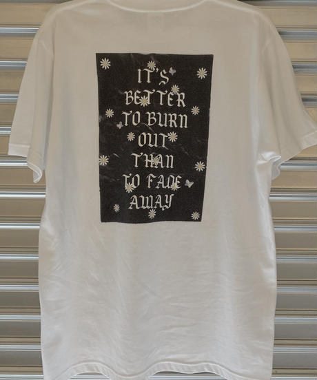 【cult original】Back print T-shirt (CTS0087)