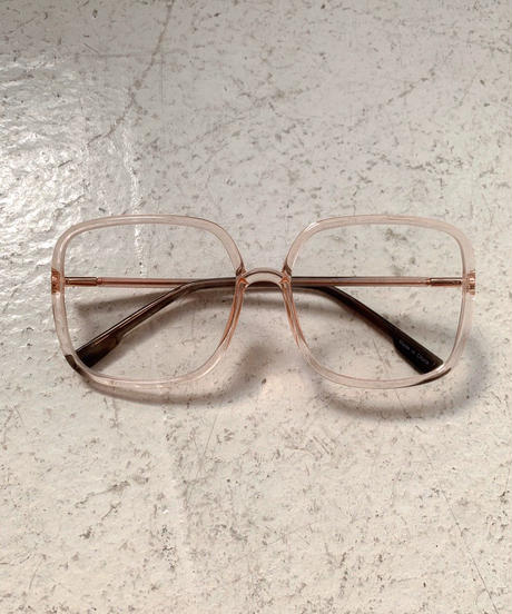 【cult select】Square clear glasses (CTK0033)