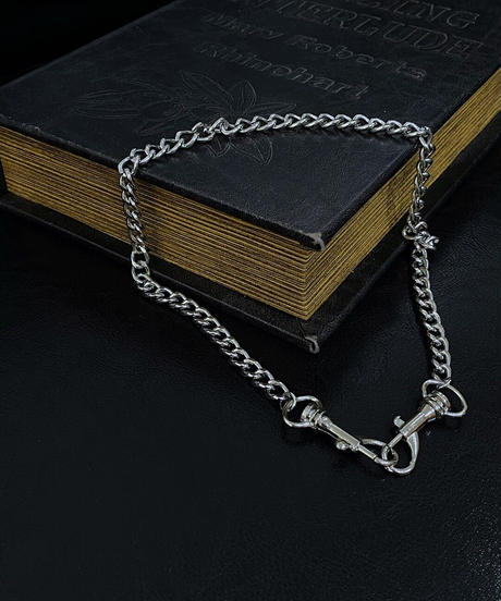 【cult select】Silver chain necklace (CTK0141)