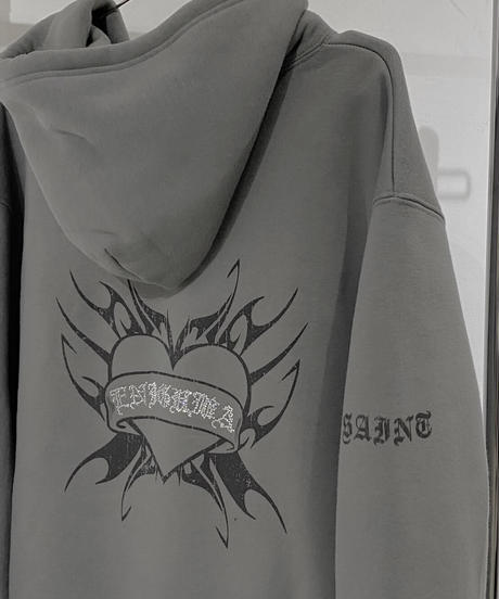 【cult original】Back heart hoodie (CTO0122)