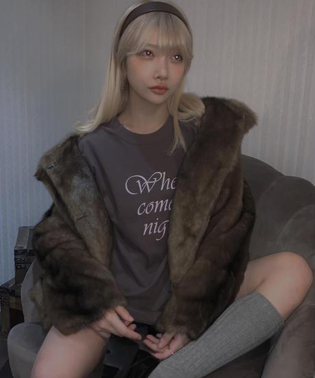 【cult select】Fur jacket (CTK0133)