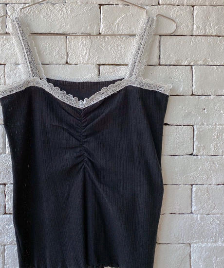 【cult select】Front gather camisole (CTK0023)