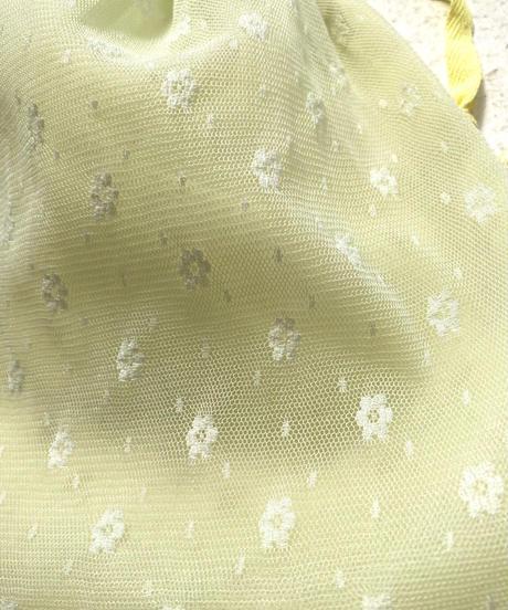 【cult select】Flower lace pouch (CTK0040)