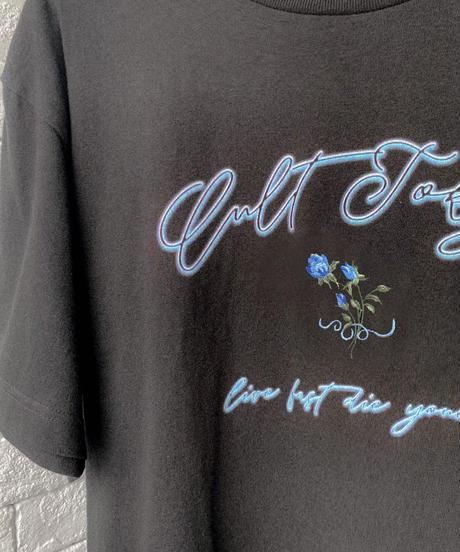 【cult original】Neon logo T-shirt (CTS0062)