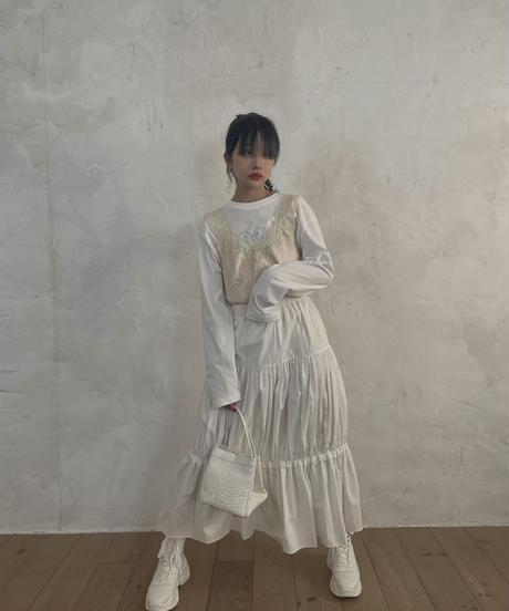 【cult select】Satin camisole (CTK0025)