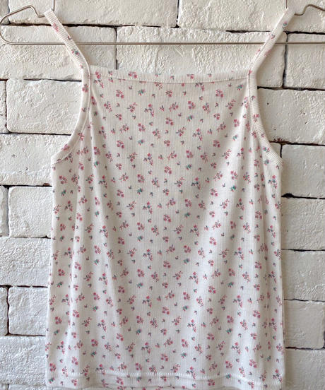 【cult select】Flower camisole (CTK0021)