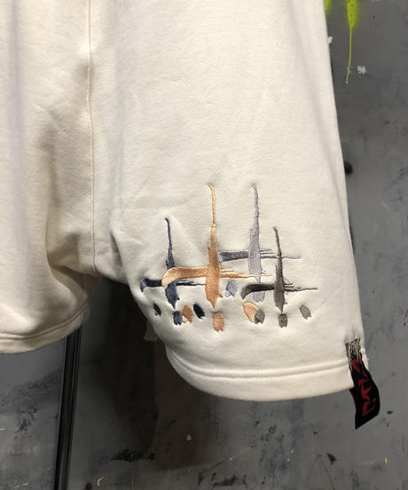 CTLS university font sarouel shorts