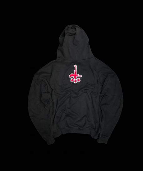 CTLS red felt embleme usual hoodies
