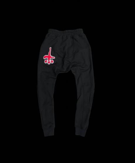 CTLS   red felt emblem   usual sweat pants