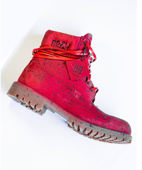 CTLS crew BOOTS RED