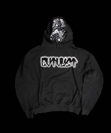 CTLS black felt embleme usual hoodies