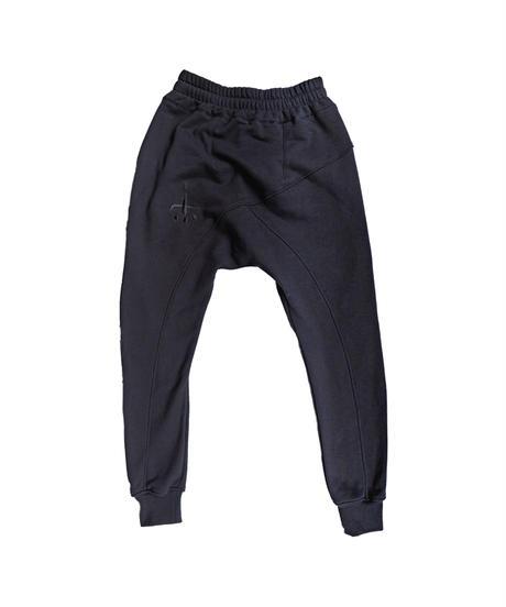 [NEW]CTLS usual BLACK on BLACK sweat pants