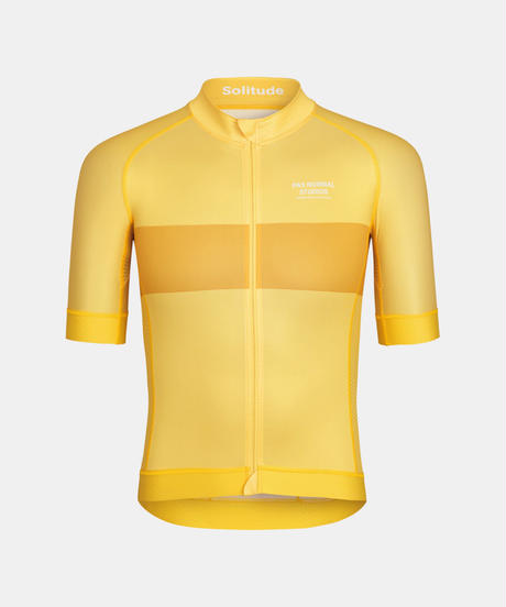Men's Solitude Jersey — Yellow Stripe 2021 <サイズ交換対応>