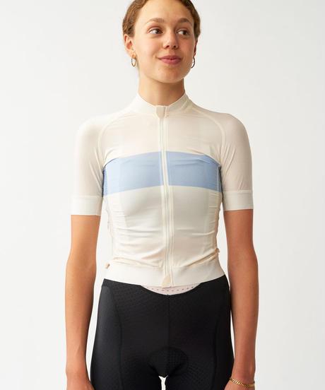 Women's Solitude Jersey — Off White Stripe 2021<サイズ交換対応>