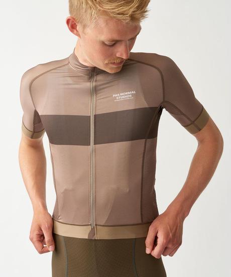 Men's Solitude Jersey — Beige Stripe 2021 <サイズ交換対応>
