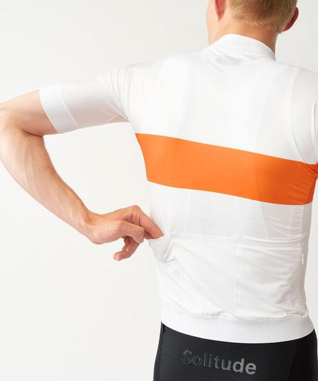 Men's Solitude Jersey — White Stripe 2021 <サイズ交換対応>