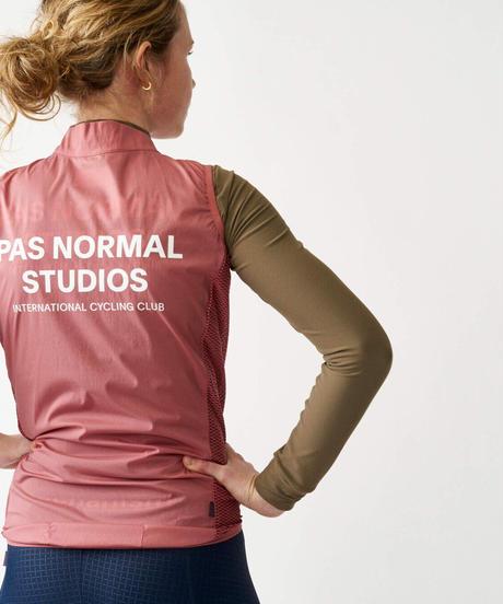 Pas Normal Studios Stow Away Gilet - Dusty Rose 2021<サイズ交換対応>