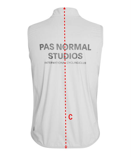 Pas Normal Studios Stow Away Gilet - Black 2021<サイズ交換対応>