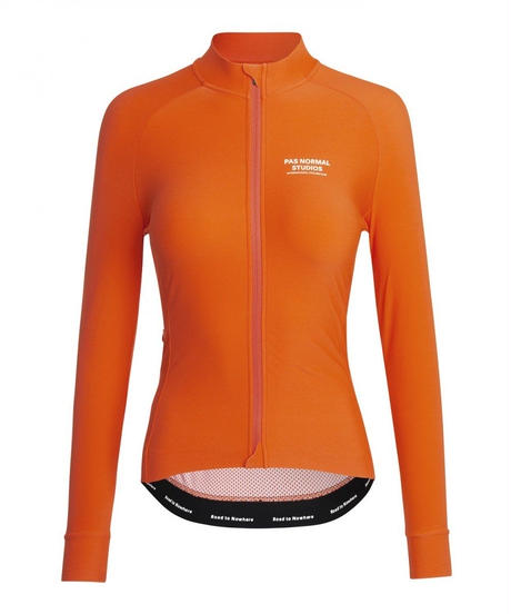 WOMEN'S MECHANISM LONG SLEEVE JERSEY - RED