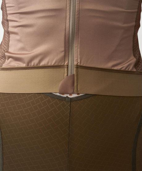 Women's Solitude Jersey — Beige Stripe 2021<サイズ交換対応>
