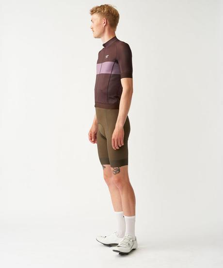 Men's Solitude Jersey — Dark Red Stripe 2021 <サイズ交換対応>
