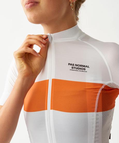 Women's Solitude Jersey - White Stripe 2021<サイズ交換対応>
