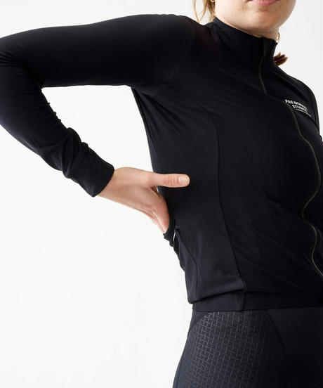 WOMEN'S LONG SLEEVE JERSEY - BLACK