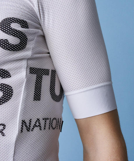 SOLITUDE MESH JERSEY - WHITE<サイズ交換対応>