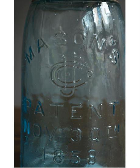 09-GO714219-04 Mason jars old-04 MASON'S PATENT NOV 30TH 1858