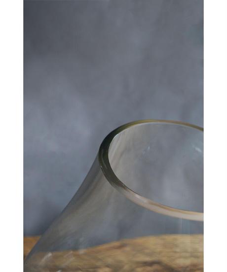 09-GO521287 Recycle Glass Bubble Terrarium Large