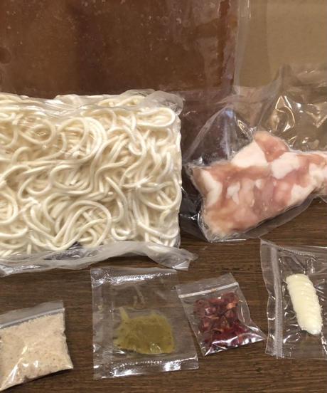 博多もつ鍋2〜3人前冷凍セット〔醤油味〕¥2980(税込¥3218)