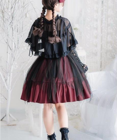 【d.Alice】レッド×ブラックコルセットワンピース