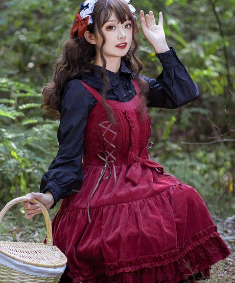 【d.Alice】赤ずきんワンピース