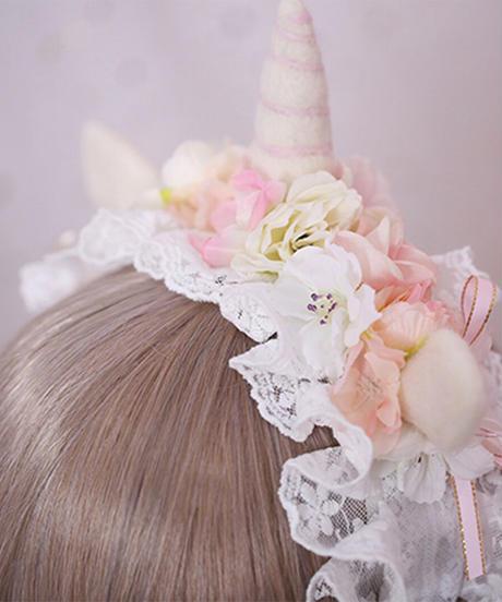 【d.Alice】ユニコーンカチューシャ(3色)