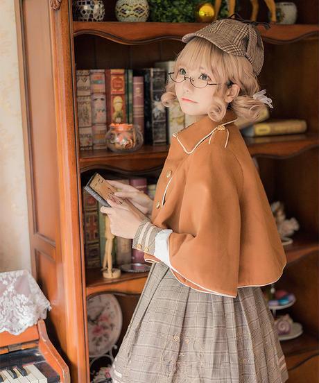 【d.Alice】探偵ポンチョ付ワンピース