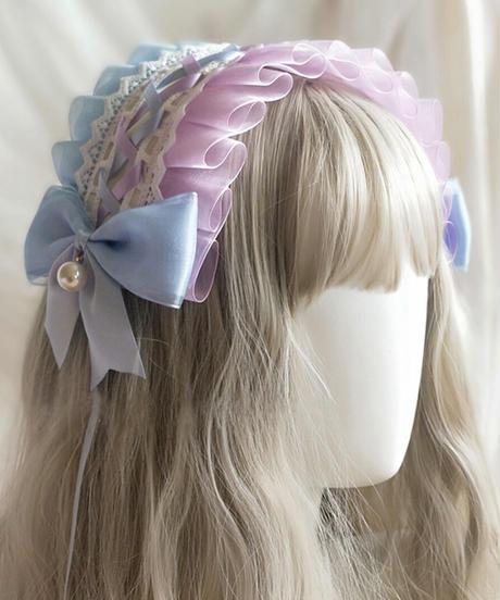 【d.Alice】リボンヘッドドレス(2色)
