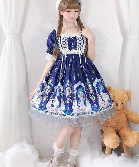 【d.Alice】パフスリーブワンピース