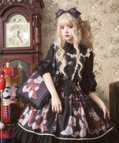 【d.Alice】王冠くまちゃんピローバッグ