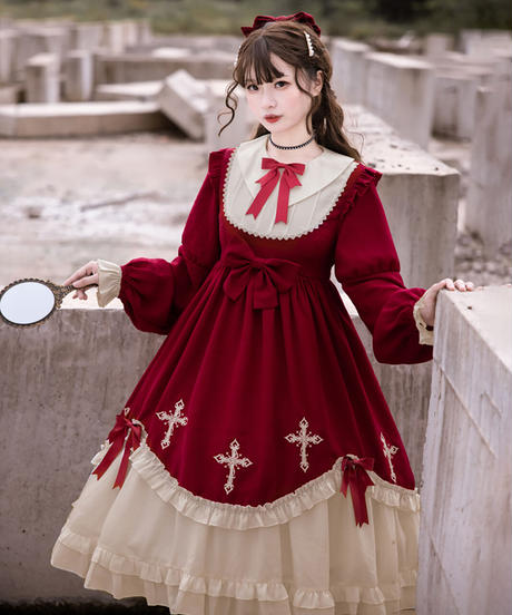 【d.Alice】十字架ワンピース 2.0